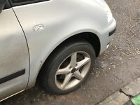 205/55R16 4 alloy wheels with very good tyres, Ballanced, ready to go, Vw, Audi, skoda