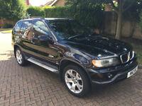 BMW X5 3.0 i Sport 5dr Black 4x4
