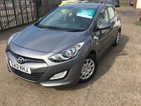 HYUNDAI I30 CLASSIC 2012 5 DOOR HATCHBACK IN GREY MOT'D AND TAXED READY TO GO