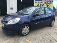 2006 Renault Clio 1.2 16v Expression Hatchback 5dr Petrol Manual **CAMBELT REPLACED, FSH,2 KEYS