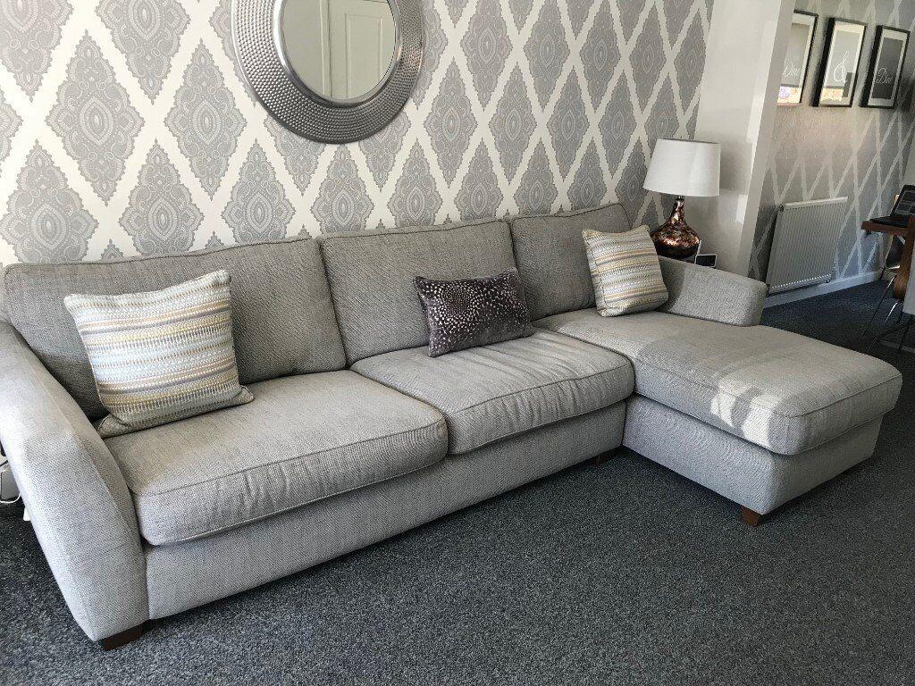 lowest price 89cff ed1d1 DFS Sophia Corner Sofa Grey | in Coatbridge, North Lanarkshire | Gumtree