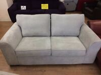 Boston Grey - 2 Seater MODERN SOFA + FREE LOCAL DELIVERY