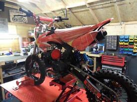 KDX 125cc pit bike