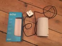 Amazon Echo (2nd generation, sandstone)