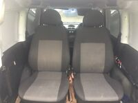 Vauxhall combo front and rear set of seats from a 2007 crew van