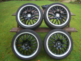 ZCW Angel Alloy Wheels for Corsa, Nova, Astra, Cavalier, Renault etc