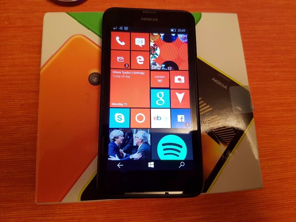 Lumia 635 Locked to O2 Upgraded to Windows Mobile 10in Surrey Quays, LondonGumtree - It is available as long as you can read this add. It will be removed from gumtree instantly after transaction. It comes with the box only. The phone has been upgraded to Windows Mobile 10. The price is final. No offers. No swap, PayPal, delivery, or...