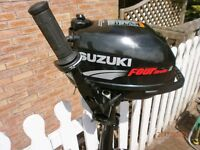 suzuki 2.5 4 stroke outboard the best 2,5 outboard well cared for