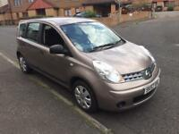 Nissan note visia 1.4 low miles 70k fsh 1 owner mot June 57reg