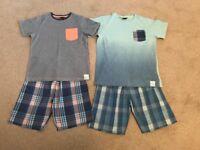 2 Pairs of NEXT Boys Pyjamas