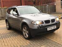 BMW X3 SPORT 2.5 PETROL AUTOMATIC 4X4 JEEP 10 MONTHS MOT FULL SERVICE EXCELLENT DRIVE NOT X5 QASHQAI