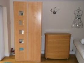 wardrobe and drawers