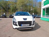 PEUGEOT 3008 1.6 HDi Exclusive +++FULL LEATHER+++PAN ROOF+++FDSH+++DVD (white) 2009