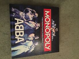 Limited Edition Abba Monopoly