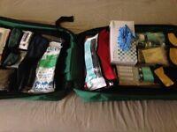 Paramedic bag kitted
