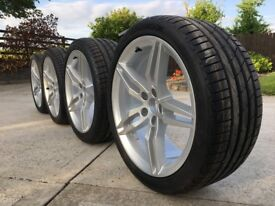 Genuine Audi A5 19 inch Alloys. Alloy Wheels with New Hankook Tyres