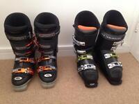 Ski boots - size 8 & 1/2
