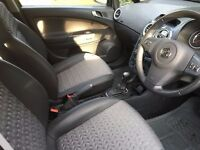 Automatic 5 door silver vauxhall corsa. Heated front seats and steering wheel. MOT, tax next year