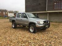 TOYOTA HILUX EX280 DOUBLE CAB D4D LOW MILEAGE PX WELCOME