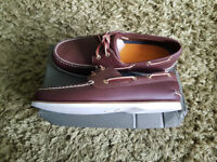 Timberland New Boat Shoe Dark Brown Leather