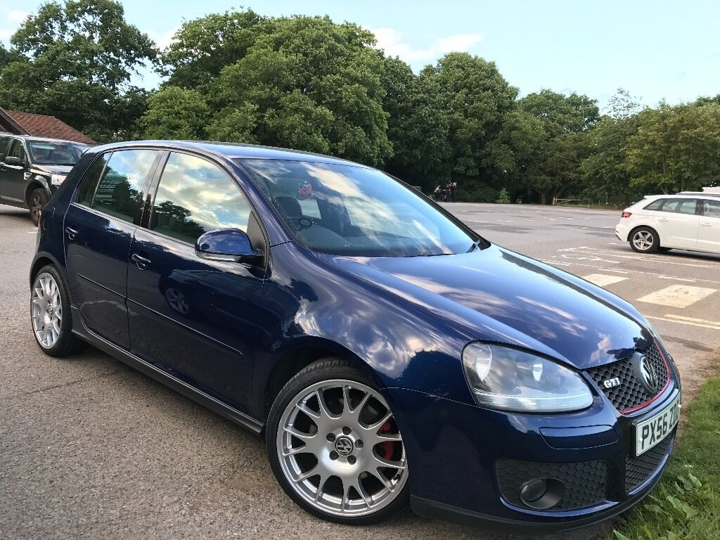 vw golf gti mk5 in shadow blue stunning looked after car. Black Bedroom Furniture Sets. Home Design Ideas