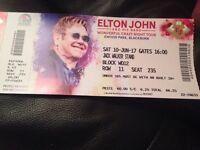 Elton John Ewood Park concert tickets
