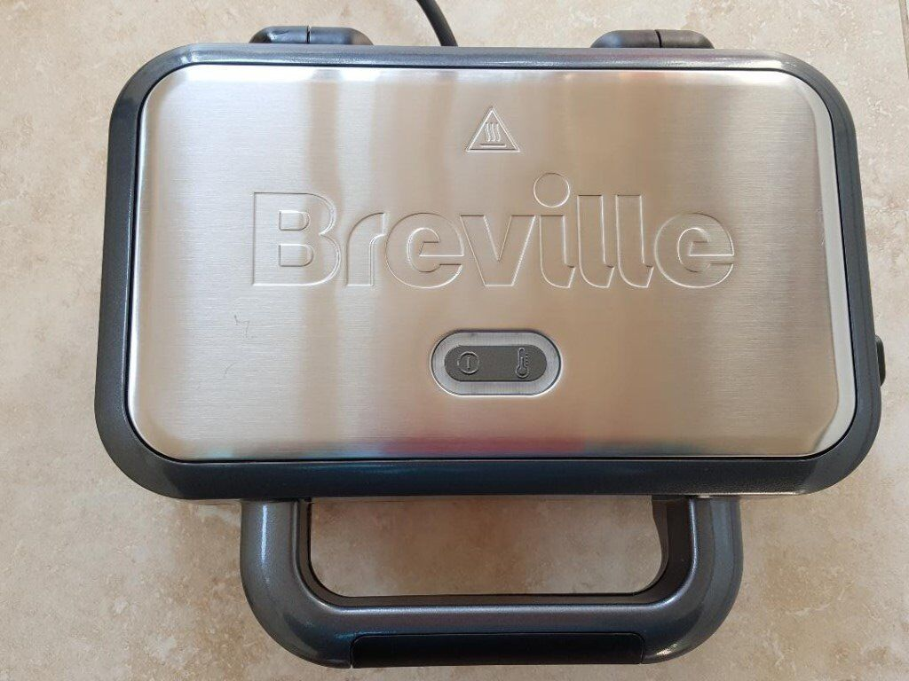 Sandwich toaster Breville VST041 removable plates stainless steel