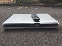 Silver DVD recorder. Panasonic DME-EZ27