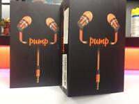 Pump earphones