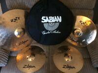 Zildjian drum cymbals set will accept offers
