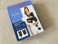 Baby Bjorn Miracle Carrier (with box) black and silver