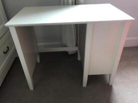 Children's desk with cupboard