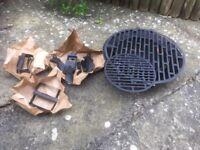 Mini Cast Iron Barbecue unused