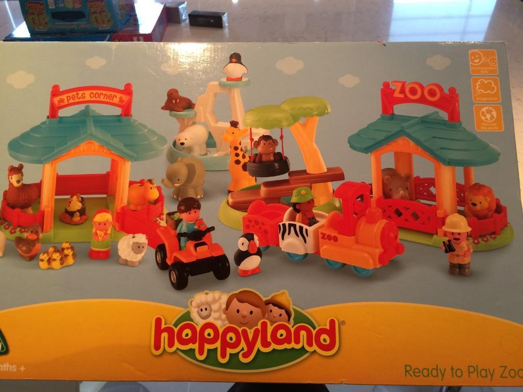 Like new Happyland Zoo