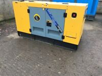 Generator 25 KVA year 2017 Demo machine 74 hrs