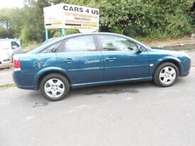 VAUXHALL VECTRA EXCLUSIV 1.8CC PETROL H/B ONLY ONE OWNER FROM NEW M0T TILL 12 MARCH 2018