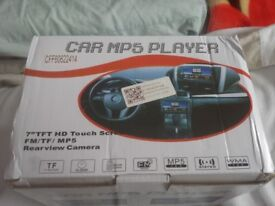 """CAR RADIO 7"""" TOUCH SCREEN WITH REMOTE"""