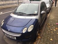 1.1L Smart ForFour Passion Manuel 5 door priced low. MOT done recently, drives well.