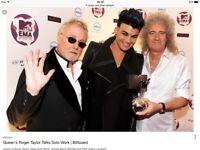 Queen and Adam lambert tickets for Glasgow 3rd December