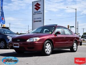 2007 Ford Taurus SEL ~Only 77,000 KM ~Power Moonroof ~Leather