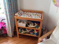 John Lewis baby changing table