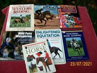 Horse Riding Books x 7 off