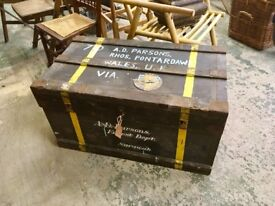 Army Chest dates from 1917 to 1938