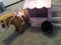 Baby Born Moving Horse & Barn