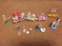 Sylvanian Families train + nursery set