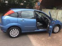 FORD FOCUS GHIA 1.6 2002, 5 Doors, Leather Interior, Asking 1100 (Negotiable)