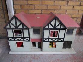 1960's dolls house.