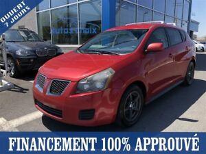 2009 Pontiac Vibe **41$/SEM*FINANCEMENT 100% APPROUVÉ**