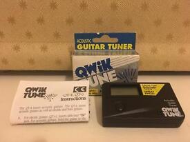 QWIK TUNE ACOUSTIC GUITAR TUNER
