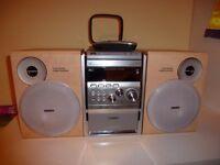 Philips CD Cassette HiFi Stereo Speaker System